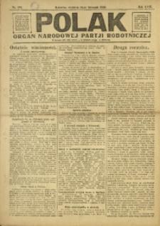Polak, 1920, R. 17, nr 261