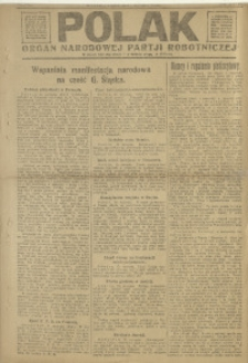 Polak, 1921, R. 18, nr 7