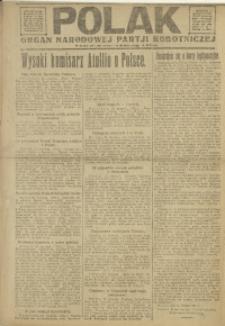 Polak, 1921, R. 18, nr 9