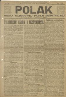 Polak, 1921, R. 18, nr 244