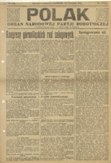 Polak, 1921, R. 18, nr 256