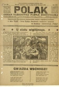 Polak, 1922, R. 19, nr 292