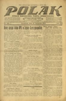Polak, 1923, R. 22, nr 262