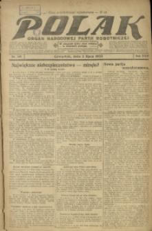 Polak, 1925, R. 24, nr 149