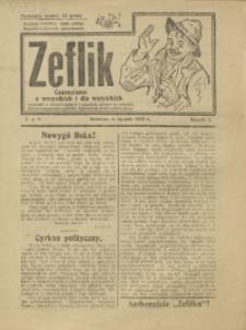 Zeflik, 1925, R. 2, nr 1