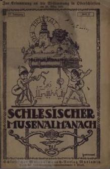 Schlesischer Musenalmanach. 1920, 7. Jg., H. 3