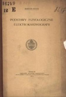 Podstawy fizyologiczne elektrokardyografii