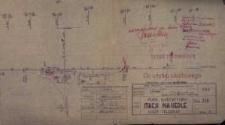 Nasiedle. Plan schematyczny stacji kolejowej z 1950 r.
