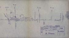 Pilszcz. Plan schematyczny stacji kolejowej z 1975 r.