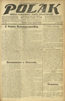 Polak, 1926, R. 25, nr 68