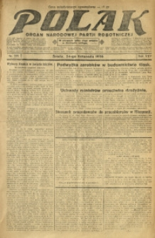 Polak, 1926, R. 25, nr 271