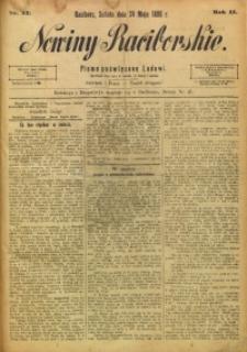 Nowiny Raciborskie, 1890, R. 2, nr 42