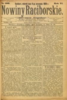 Nowiny Raciborskie, 1894, R. 6, nr 106