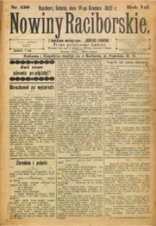 Nowiny Raciborskie, 1895, R. 7, nr 150