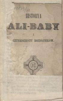 Historya Ali-Baby i czterdziestu rozbójników