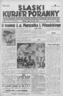 Śląski Kurjer Poranny, 1935, R. 1, nr 101