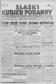 Śląski Kurjer Poranny, 1935, R. 1, nr 143