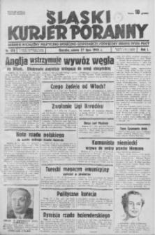 Śląski Kurjer Poranny, 1935, R. 1, nr 172