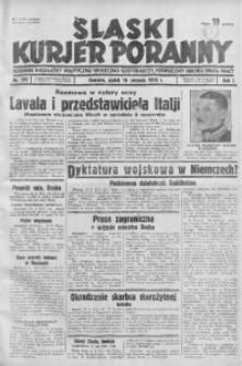 Śląski Kurjer Poranny, 1935, R. 1, nr 192