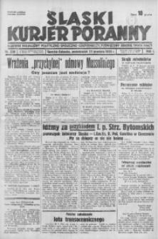 Śląski Kurjer Poranny, 1935, R. 1, nr 230