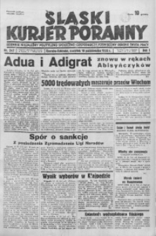 Śląski Kurjer Poranny, 1935, R. 1, nr 247