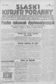 Śląski Kurjer Poranny, 1935, R. 1, nr 271