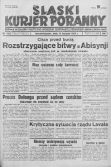 Śląski Kurjer Poranny, 1935, R. 1, nr 281