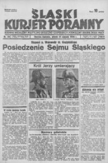 Śląski Kurjer Poranny, 1936, R. 2, nr 20