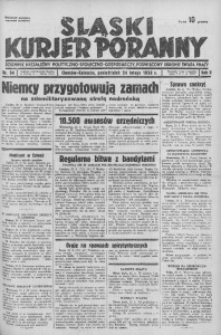 Śląski Kurjer Poranny, 1936, R. 2, nr 54