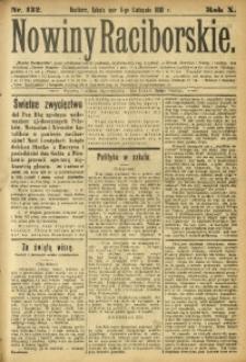 Nowiny Raciborskie, 1898, R. 10, nr 132