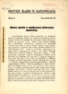 Motywy polskie w współczesnej beletrystyce niemieckiej