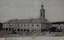 Brzeżany. Ratusz, 1915 r.