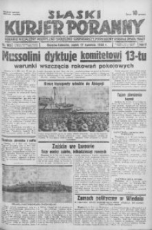 Śląski Kurjer Poranny, 1936, R. 2, nr 105