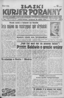 Śląski Kurjer Poranny, 1936, R. 2, nr 108