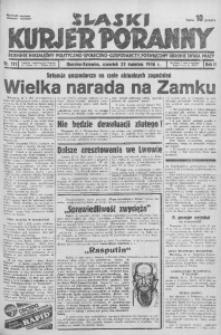 Śląski Kurjer Poranny, 1936, R. 2, nr 111