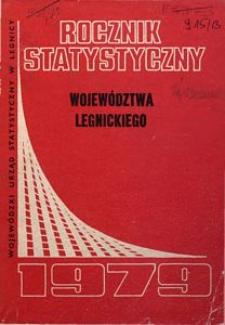 Rocznik Statystyczny Województwa Legnickiego, 1979