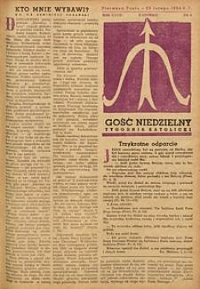 Gość Niedzielny, 1958, R. 27, nr 8