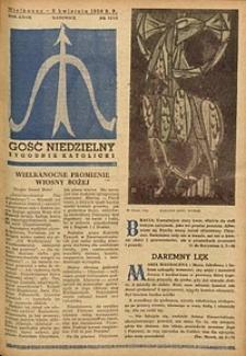 Gość Niedzielny, 1958, R. 27, nr 13/14