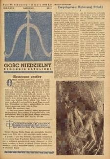Gość Niedzielny, 1958, R. 27, nr 19