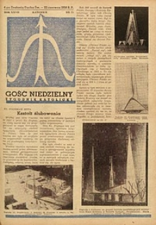 Gość Niedzielny, 1958, R. 27, nr 25