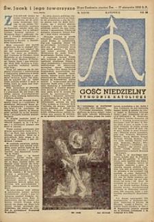 Gość Niedzielny, 1958, R. 27, nr 33