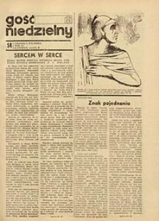 Gość Niedzielny, 1971, R. 44, nr 14