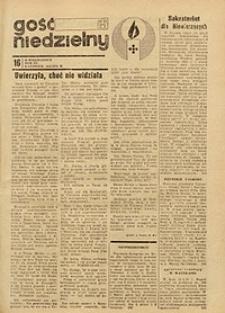 Gość Niedzielny, 1971, R. 40, nr 16