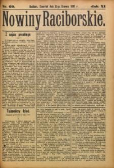 Nowiny Raciborskie, 1899, R. 11, nr 69