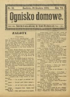 Ognisko Domowe, 1901, R. 7, nr 14