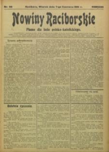 Nowiny Raciborskie, 1910, R. 22, nr 66