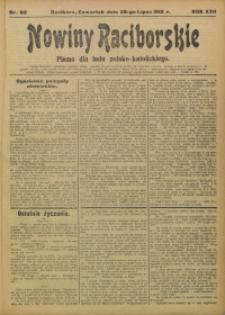 Nowiny Raciborskie, 1910, R. 22, nr 88