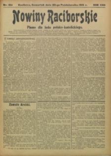 Nowiny Raciborskie, 1910, R. 22, nr 124