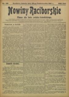 Nowiny Raciborskie, 1910, R. 22, nr 128