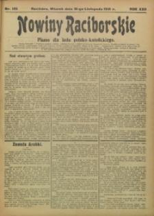 Nowiny Raciborskie, 1910, R. 22, nr 135